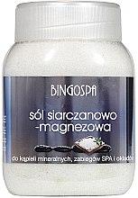 Парфюми, Парфюмерия, козметика Соли за вана с магнезиев сулфат - BingoSpa Salt And Magnesium Sulphate