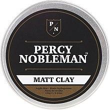 Парфюмерия и Козметика Матова моделираща глина за коса - Percy Nobleman Matt Clay