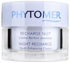 Възстановяващ нощен крем - Phytomer Night Recharge Youth Enhancing Cream — снимка N3