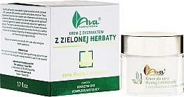 Парфюми, Парфюмерия, козметика Крем за мазна и комбинирана кожа с екстракт от зелен чай - Ava Laboratorium Green Tea Cream For Oily To Combination Skin