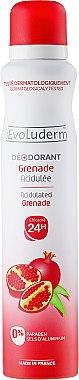 Дезодорант спрей с нар - Evoluderm Deodorant Acidulated Grenade 24H — снимка N1