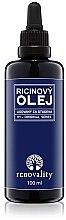Парфюмерия и Козметика Рициново масло за лице и тяло - Renovality Original Series Castor Oil Cold Pressed
