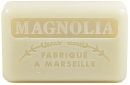 "Парфюмерия и Козметика Марсилски сапун ""Магнолия"" - Foufour Savonnette Marseillaise"