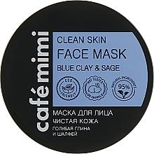 """Маска за лице """"Чиста кожа"""" - Cafe Mimi Clean Skin Face Mask — снимка N1"""