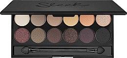 Парфюмерия и Козметика Палитра сенки за очи - Sleek MakeUP i-Divine Mineral Based Eyeshadow Palette Au Naturel