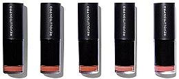 Парфюми, Парфюмерия, козметика Комплект червила за устни - Revolution Pro 5 Lipstick Collection Bare
