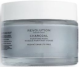 Парфюмерия и Козметика Почистваща глинена маска за лице - Revolution Skincare Charcoal Purifying Mask