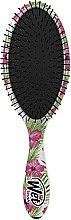 Парфюмерия и Козметика Четка за коса - Wet Brush Detangle Professional Pink Floral