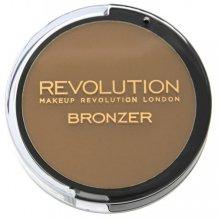 Парфюми, Парфюмерия, козметика Бронзова пудра за лице - Makeup Revolution Bronze Kiss