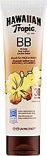 Парфюмерия и Козметика Слънцезащитен лосион за тяло и лице - Hawaiian Tropic BB Cream Sun Lotion Face And Body Spf30