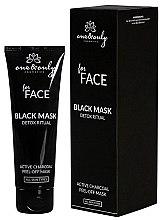 Парфюми, Парфюмерия, козметика Почистваща маска за лице с активен въглен - One&Only Cosmetics For Face Black Mask Detox Ritual