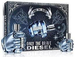 Парфюмерия и Козметика Diesel Only The Brave - Комплект тоалетна вода (edt/125ml + edt/35ml)