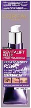 Парфюмерия и Козметика Околоочен крем - L'Oreal Paris Revitalift Filler Eye Cream For Face