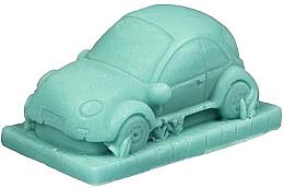 """Парфюмерия и Козметика Ръчно изработен натурален сапун """"Автомобил"""" с аромат на киви - LaQ Happy Soaps Natural Soap"""