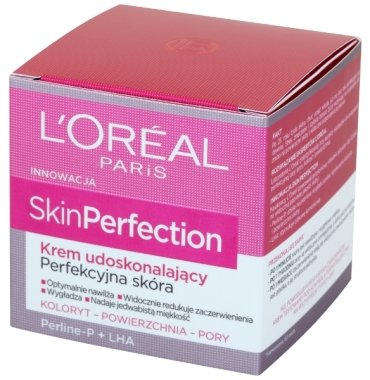 Възстановяващ крем за лице - L'Oreal Paris Skin Perfection Perline-P+LHA Cream