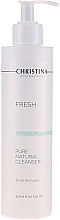 Парфюмерия и Козметика Натурален почистващ продукт за всеки тип кожа - Christina Fresh Pure & Natural Cleanser