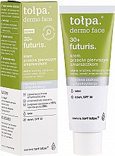 Парфюмерия и Козметика Дневен крем за лице против първи бръчки SPF30 - Tolpa Dermo Face Futuris 30+ Face Cream SPF30