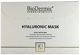 Парфюмерия и Козметика Хиалуронова маска за лице - Biodermic Hyaluronic Mask