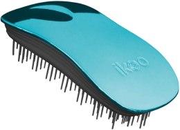 Парфюми, Парфюмерия, козметика Четка за коса - Ikoo Home Pacific Metallic Black