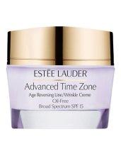Парфюми, Парфюмерия, козметика Крем за лице против бръчки - Estee Lauder Advanced Time Zone Age Reversing Line/Wrinkle Creme Oil-Free Broad Spectrum SPF 15