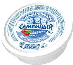 """Парфюмерия и Козметика Зъбен прах """"Семеен"""" - Fito Козметик"""