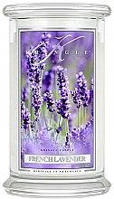 Парфюмерия и Козметика Ароматна свещ в бурканче - Kringle Candle French Lavender