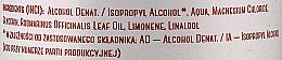 Антибактериална течност за ръце - Polny Warkocz Kaliber 69% — снимка N3