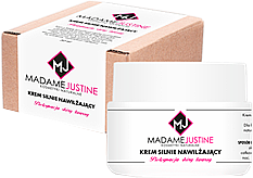 Парфюми, Парфюмерия, козметика Интензивно хидратиращ крем за лице - Madame Justine Intense Moisturizing Cream