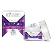 Крем-концентрат против бръчки 50+ с лифтинг ефект - Bielenda Neuro Collagen Lifting Cream 50+ — снимка N2