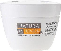 """Матиращ крем за лице """"Исландски мъх"""" - Natura Estonica Iceland Moss Face Cream — снимка N2"""