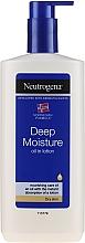 Парфюмерия и Козметика Емулсия за тяло - Neutrogena Deep Moisture Creamy Oil