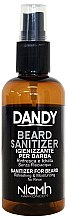 Парфюмерия и Козметика Дезинфекциращ спрей за брада и мустаци - Niamh Hairconcept Dandy Beard Sanitizer Refreshing & Moisturizing