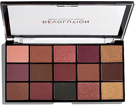 Палитра сенки за очи - Makeup Revolution Re-Loaded Palette — снимка N2