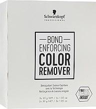 Парфюмерия и Козметика Средство за премахване на изкуствен пигмент на косата - Schwarzkopf Professional Bond Enforcing Color Remover