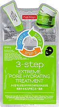 """Парфюмерия и Козметика Тристепенен комплекс за лице """"Почистваща грижа"""" - Purederm 3-Step Extreme Pore Hydrating Treatment"""