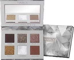 Парфюмерия и Козметика Палитра сенки за очи - Nabla Cutie Collection Palette Platinum