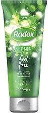 Парфюми, Парфюмерия, козметика Душ гел - Radox 12H Scent Touch Feel Free Body Wash