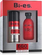 Парфюми, Парфюмерия, козметика Bi-Es Ego Red Edition - Комплект (тоал.вода/100ml + дезод./150ml)