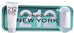 Парфюми, Парфюмерия, козметика Carolina Herrera 212 NYC Gift Set - Комплект (тоал. вода/60ml + лосион за тяло/75ml)