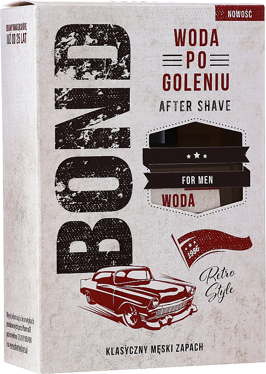 Лосион за след бръснене - Bond Retro Style After Shave Lotion