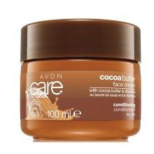 Парфюми, Парфюмерия, козметика Крем за лице с какаово масло и витамин Е - Avon Care Cocoa Butter Face Cream