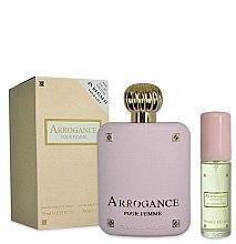 Парфюмерия и Козметика Arrogance Pour Femme - Комплект тоалетна вода (edt/75ml+edt/30ml)