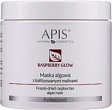 Парфюмерия и Козметика Маска за лице от водорасли с лиофилизирани малини - APIS Professional Raspberry Glow Algae Mask