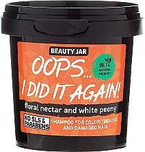 "Парфюмерия и Козметика Шампоан за боядисана коса ""Oops…I did it again!"" - Beauty Jar Shampoo For Colour-Treated And Damaged Hair"