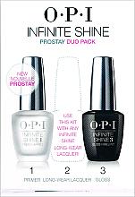 Парфюмерия и Козметика Комплект за нокти, IST10+IST30 - O.P.I Infinite Shine Duo Pack