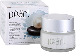 Парфюмерия и Козметика Антистареещ дневен крем за лице - Diet Esthetic Micro Pearl Day Face Cream SPF 15