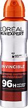 Парфюмерия и Козметика Дезодорант спрей - L'Oreal Paris Men Expert Invincible 96 Hours Deodorant Spray