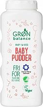 Парфюмерия и Козметика Бебешка пудра - Gron Balance Baby & Kids Baby Pudder