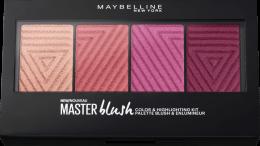 Парфюми, Парфюмерия, козметика Палитра руж - Maybelline Rouge Palette Master Blush Palette