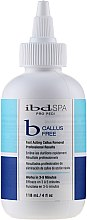 Парфюмерия и Козметика Продукт за бързо отстраняване на кератинизирана кожа и мазоли - IBD Spa Pro Pedi B-Callus Free